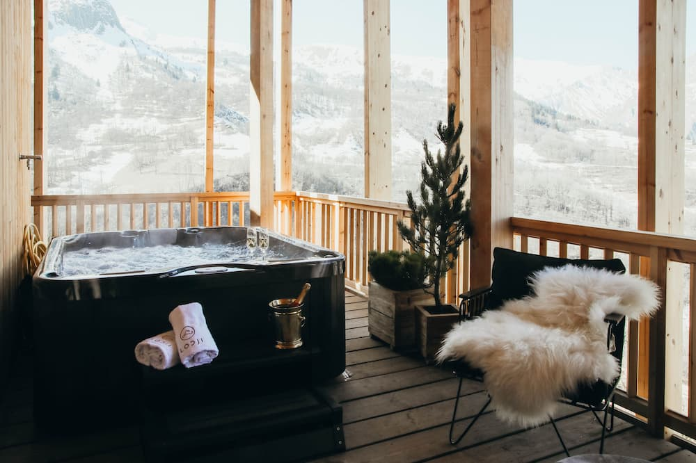 Apartament luksusowy typu Suite - Prywatna wanna spa