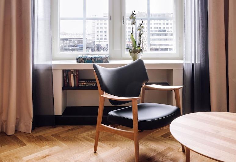 Amerikalinjen, Oslo, Phòng Deluxe, Khu phòng khách