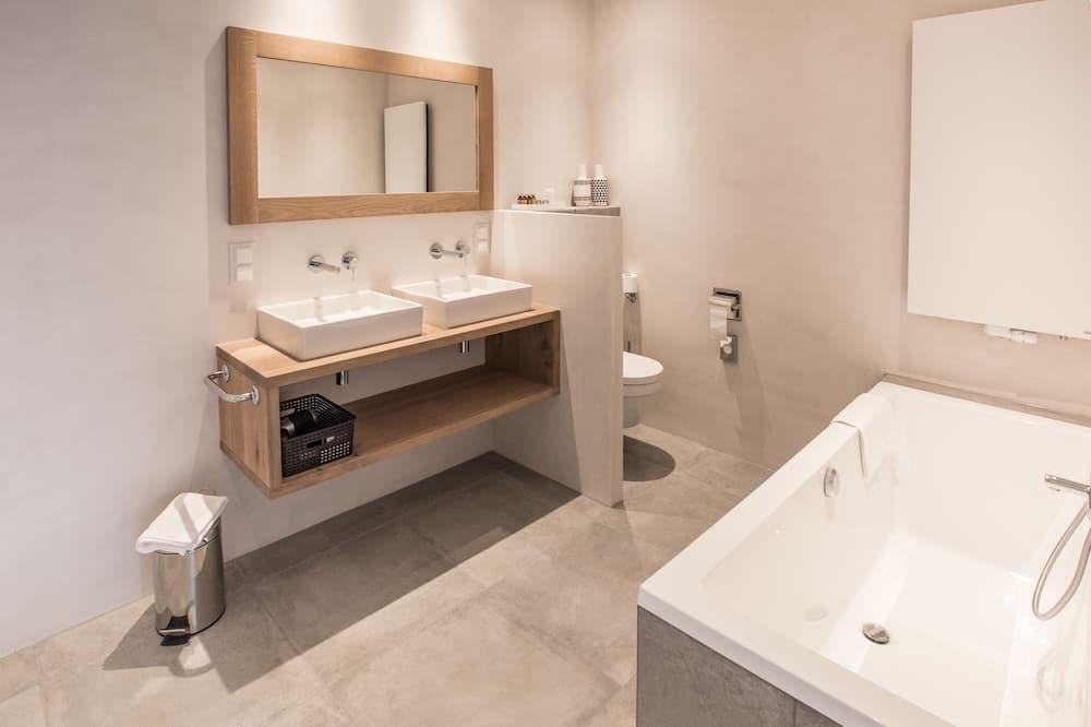Deluxe-Apartment, 1 Schlafzimmer (Kweker) - Badezimmer