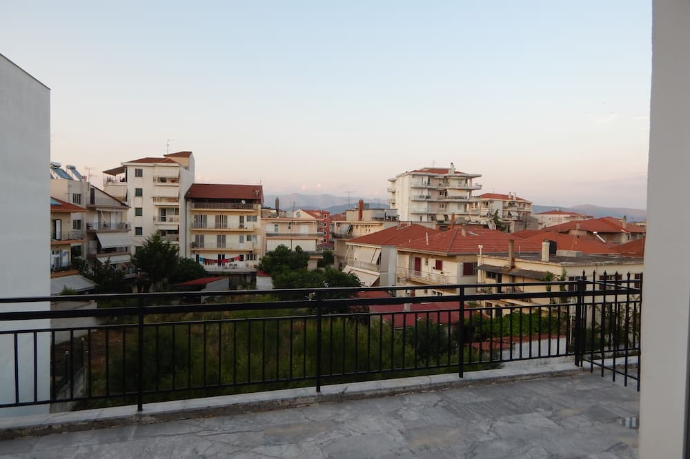 Dzīvokļnumurs, balkons, skats uz pilsētu (Penthouse) - Balkons