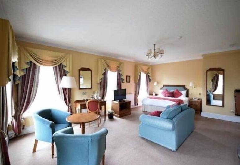 The Central Hotel Scarborough, Σκάρμπορο, Δίκλινο Δωμάτιο για Μονόκλινη Χρήση, Δωμάτιο επισκεπτών