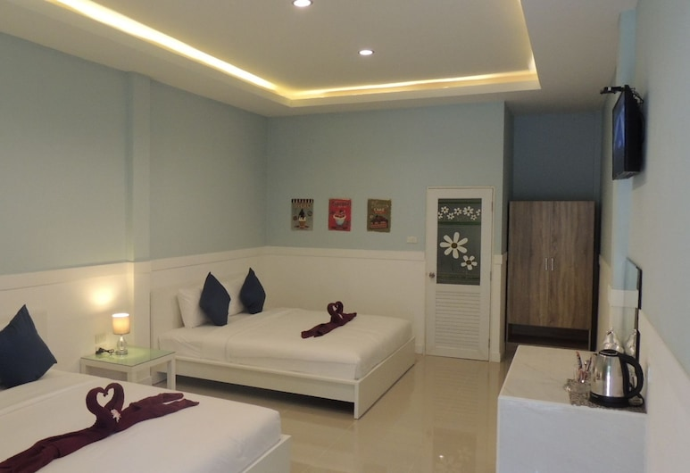 Blue Moon Samet, Rayong, Family Room with Terrace, Chambre