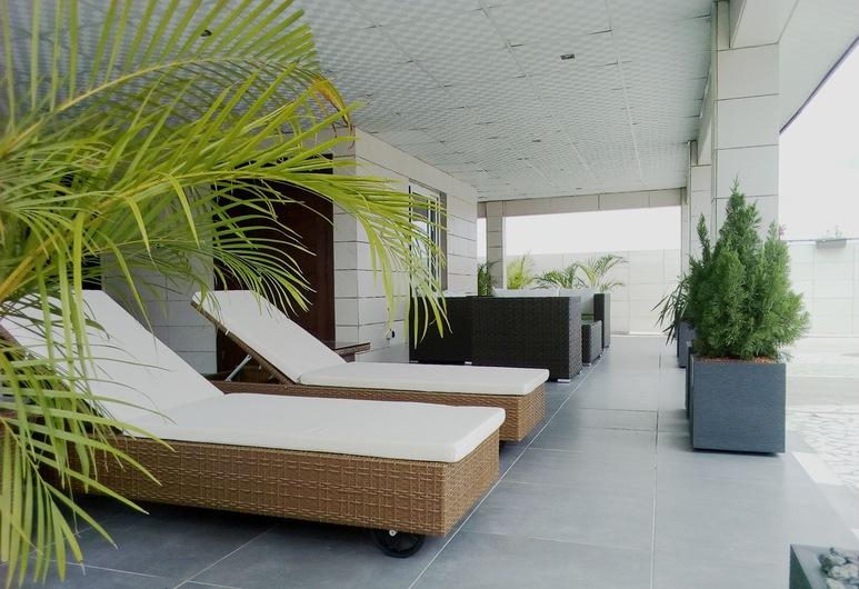 Residence Maryka II, Cotonou, Terrace/Patio
