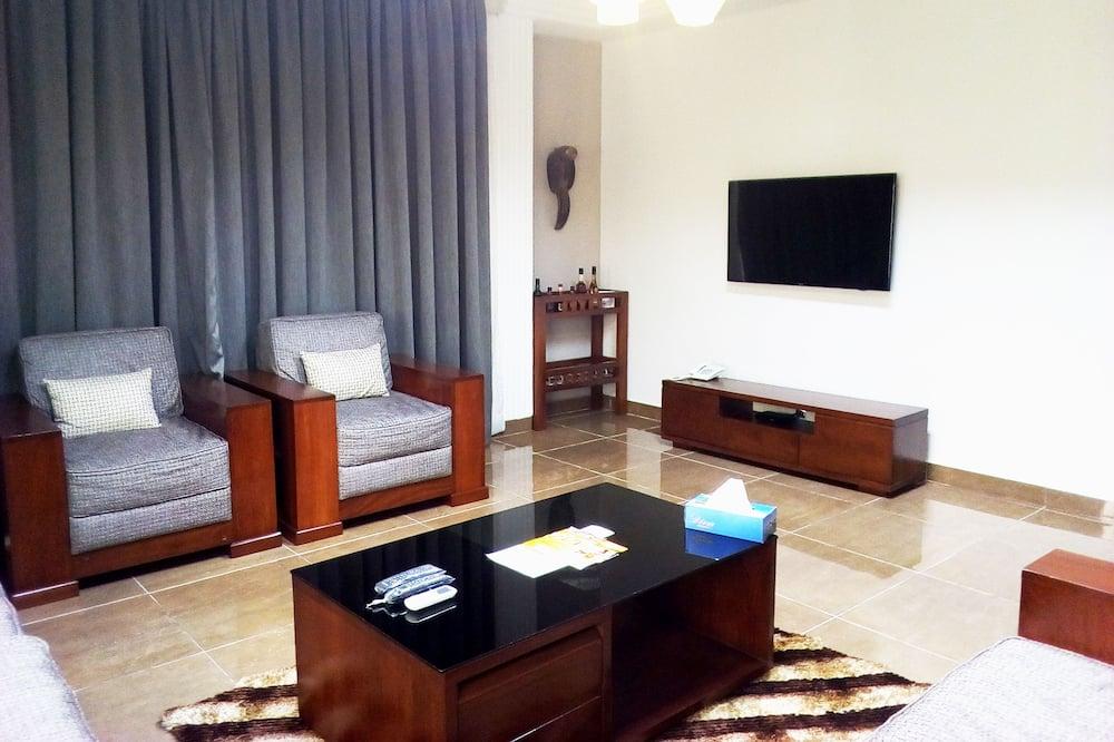 Phòng Suite Tiêu chuẩn, 1 phòng ngủ, Quang cảnh thành phố - Phòng khách