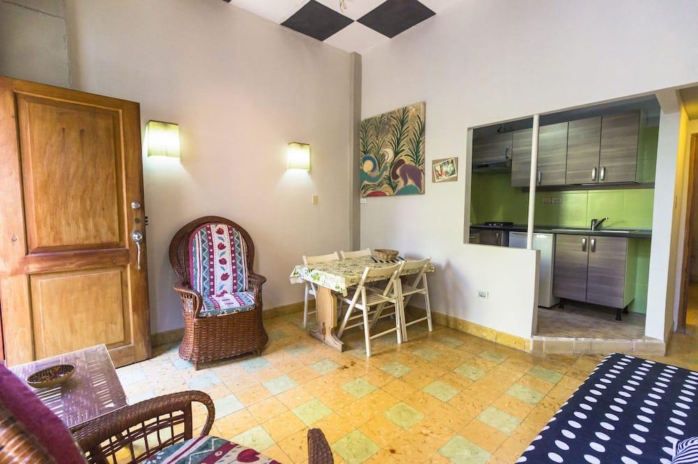 트래디셔널 아파트, 더블침대 1개, 금연 - 거실