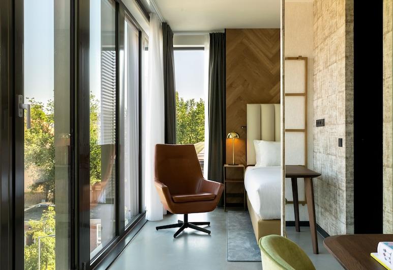 ذا سلاك روتردام، إيه تريبيوت بورتفوليو هوتل, روتردام, غرفة - سرير ملكي - لغير المدخنين (The Slaak Room), غرفة نزلاء