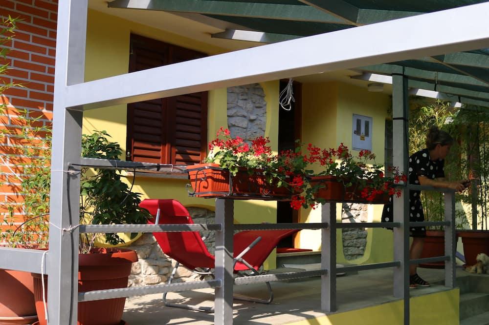 Apartment, Meerblick - Blick vom Balkon