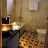 Dvoulůžkový pokoj, terasa - Koupelna