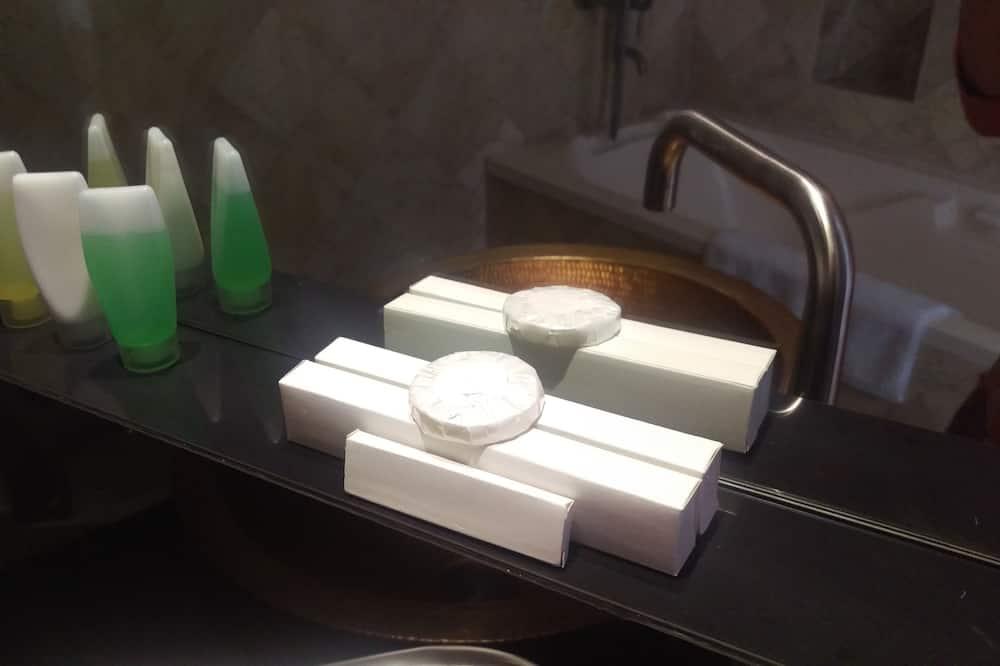 Pokoj se dvěma jednolůžky - Vybavení koupelny