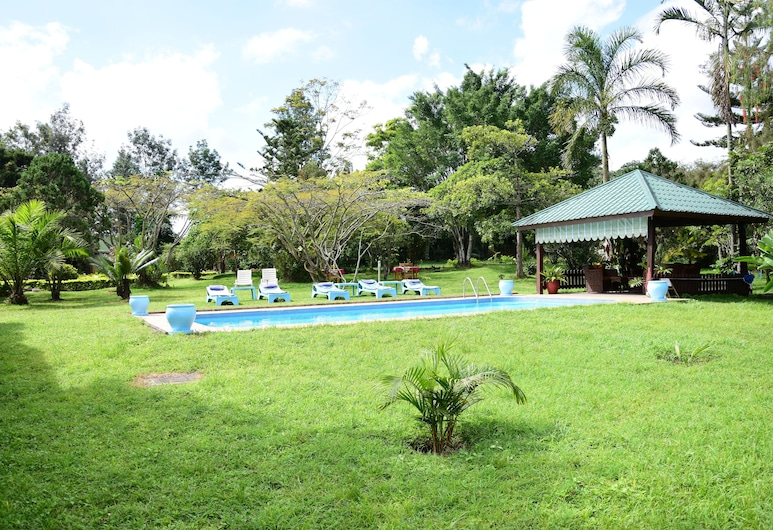 Meru View Lodge, Αρούσα, Εξωτερική πισίνα