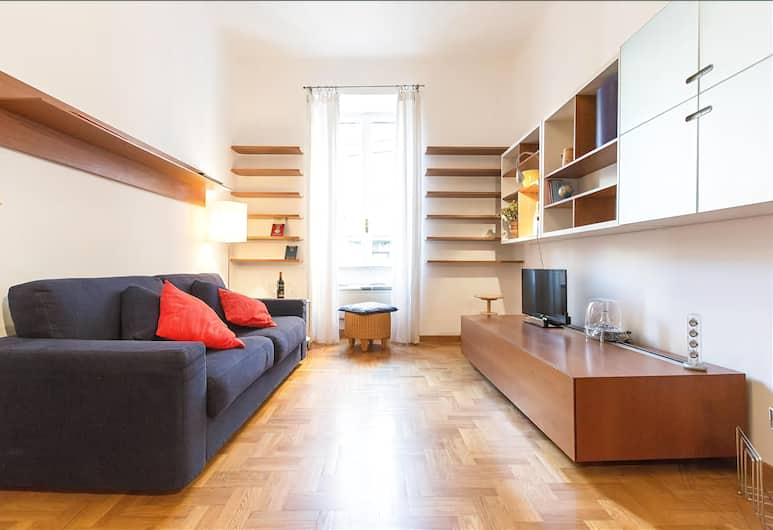 Bright and quiet Halldis apartment with small balcony, Rome, Vardagsrum