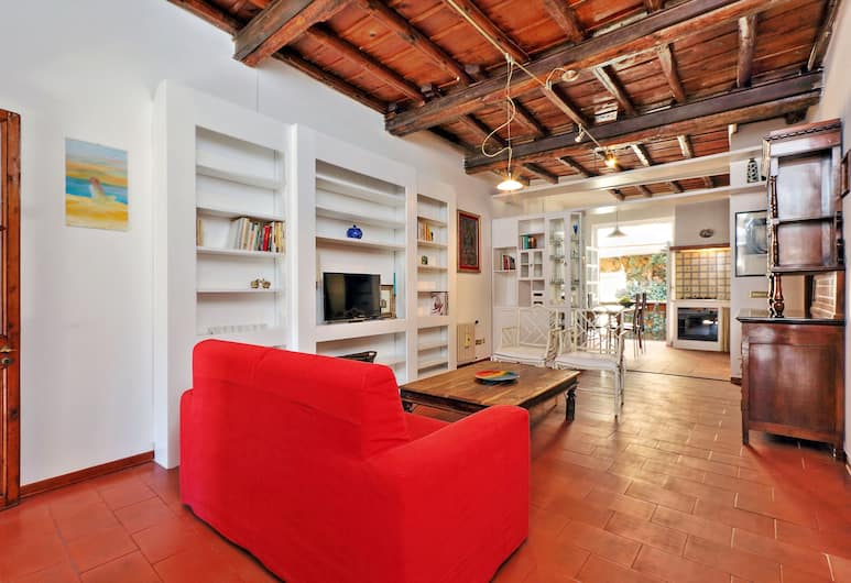 Characteristic two bedroom apartment short walk from the Colosseum, Rome