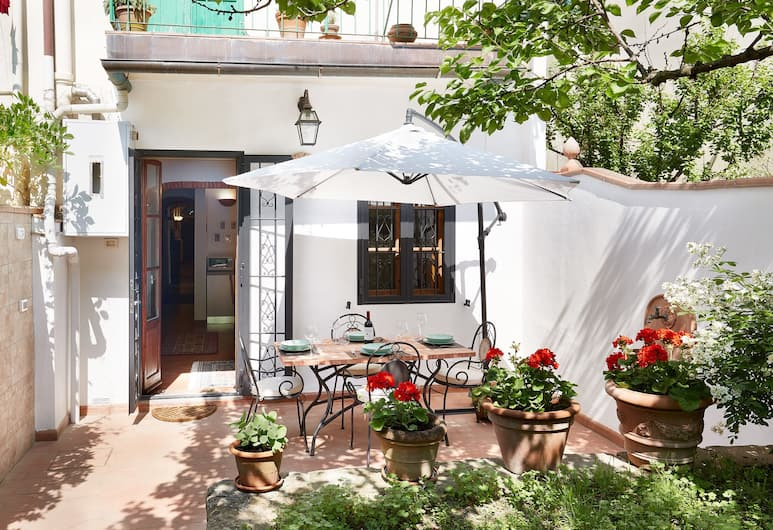 Mathilde - Apartment with 100 sqm garden, fruit trees and barbecue, Florence, Balcon