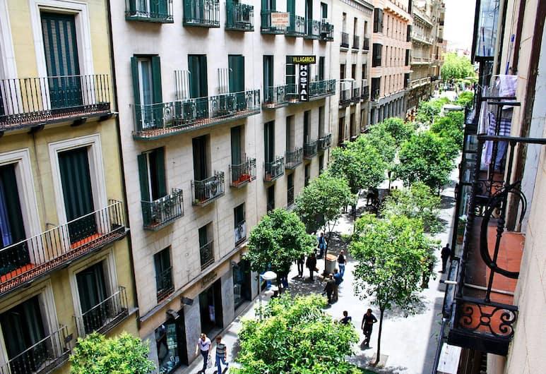 Ava Rooms, Madrid, Trokrevetna soba, 3 kreveta za jednu osobu, privatna kupaonica, Pogled na ulicu