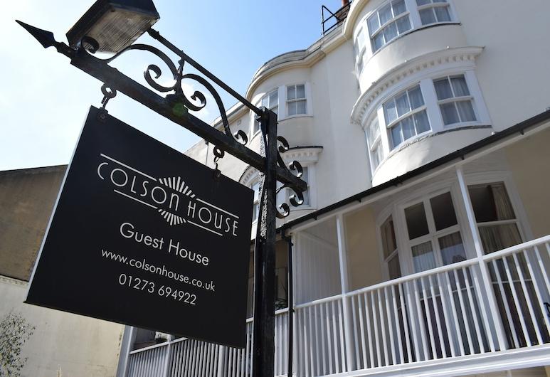 Colson House, Brighton, Hotel Front