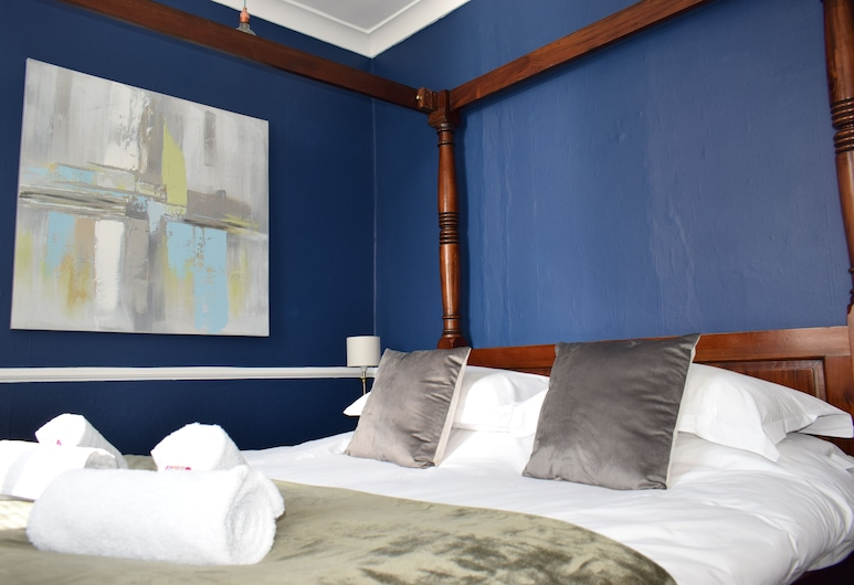 Colson House, Brighton, Luxury Double Room (Four Poster), Guest Room