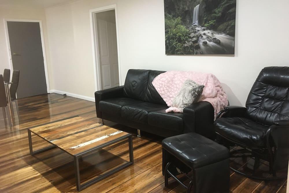 Departamento familiar, 2 habitaciones, para no fumadores - Sala de estar