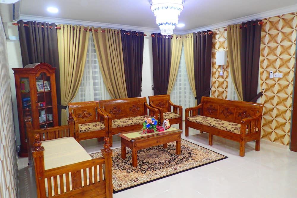 Bungalow Keluarga, 4 kamar tidur, akses difabel - Ruang Keluarga