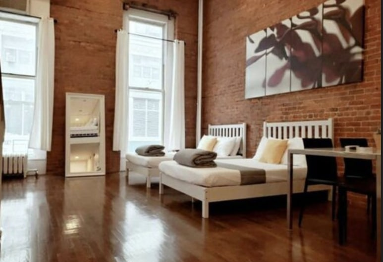 Broadway Suite NY, New York, Familie maisonnette (3 Double Bed and 2 Queen Bed), Kamer
