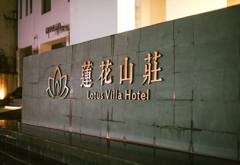 Huangshan Lotus Villa, Žluté hory