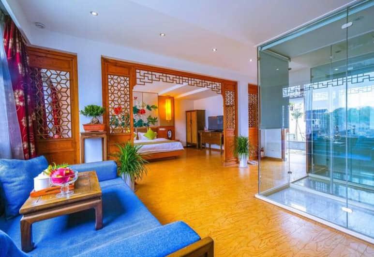 Yiyun Botique Inn Fujia Tongli, Suzhou, Superior dvokrevetna soba, Soba za goste