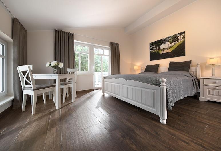 Reiterhof und Pension Eichenhof, Haiger, Deluxe-Doppelzimmer, Balkon, Zimmer