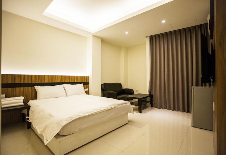 巴黎之星一館, 台中市, 標準雙人房, 1 張標準雙人床, 非吸煙房, 客房