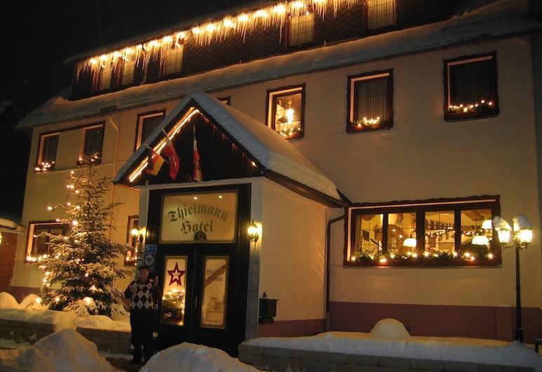 Hotel Thielmann, Mittenaar, Hotel Front – Evening/Night