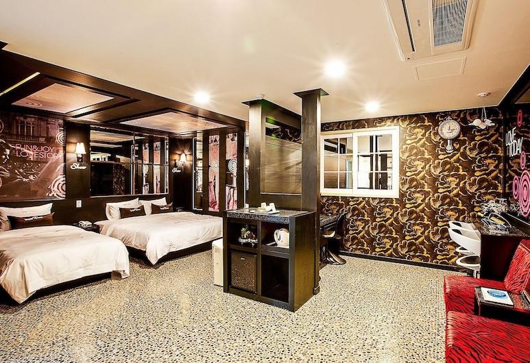 Show Hotel, Cheonan, Camera Deluxe con 2 letti singoli, Camera