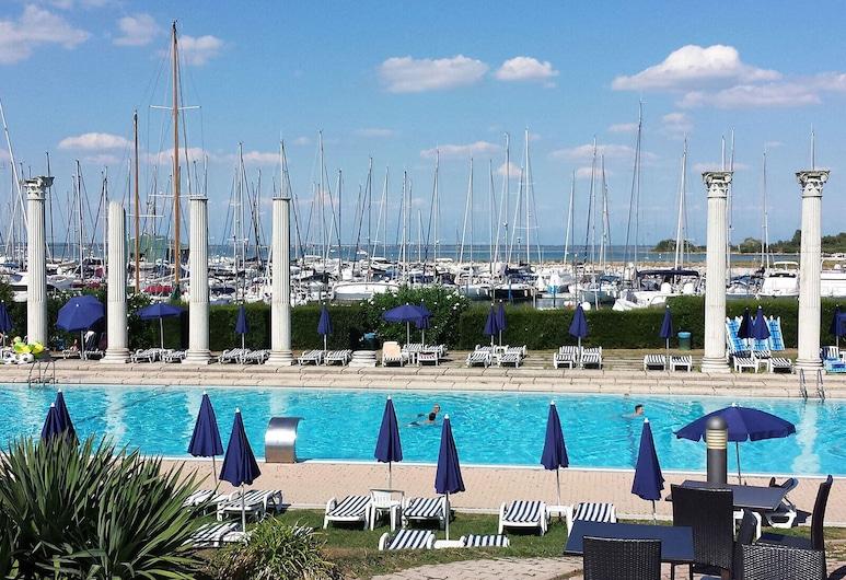 伊索拉特拉梅爾酒店, Lignano Sabbiadoro, 泳池