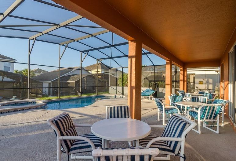 Ov1105 - Emerald Island - 6 Bed 4.5 Baths Villa, Kissimmee, Terraza o patio