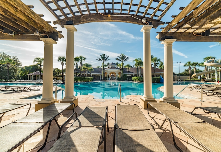 Ov2611 - Windsor Hills Resort - 5 Bed 5 Baths Villa, Kissimmee, Terraza