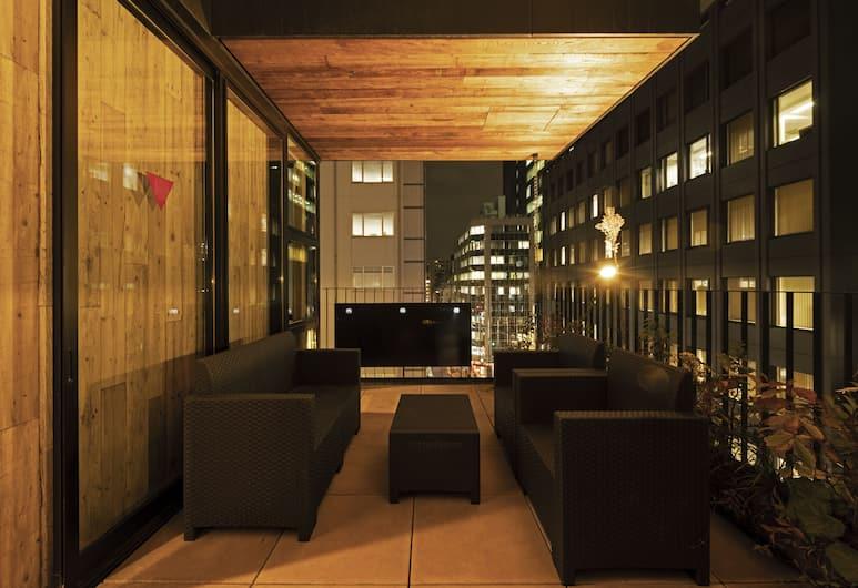 bnb+ Kanda - Hostel, Tokyo, Terrace/Patio
