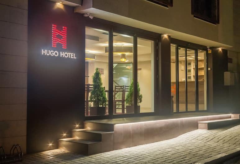 Hugo Hotel, Varna, Hotellets facade