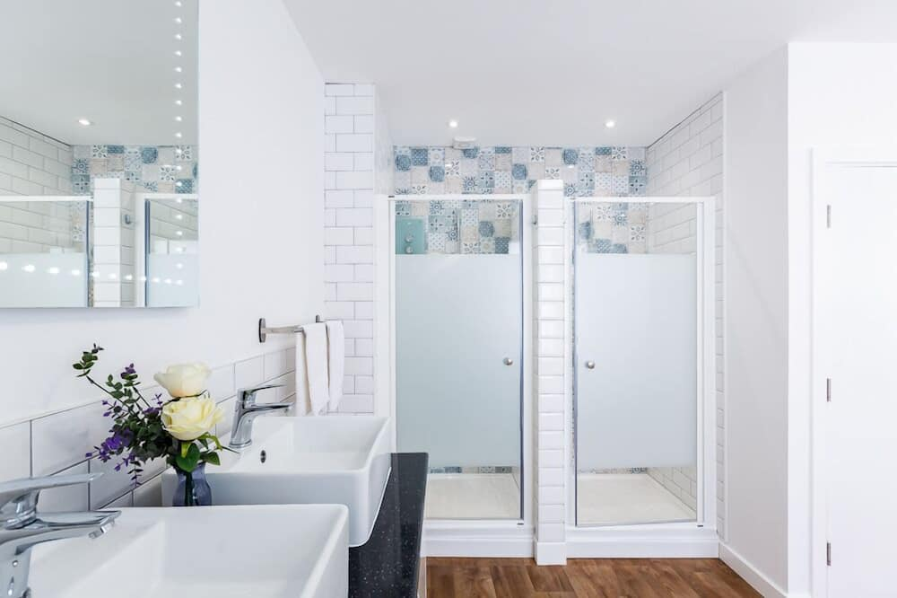 Apartmán, súkromná kúpeľňa (The Loft Penthoose) - Kúpeľňa