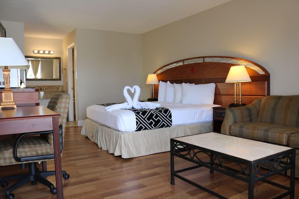 Štandardná izba, 1 extra veľké dvojlôžko, bezbariérová izba, nefajčiarska izba - Hosťovská izba