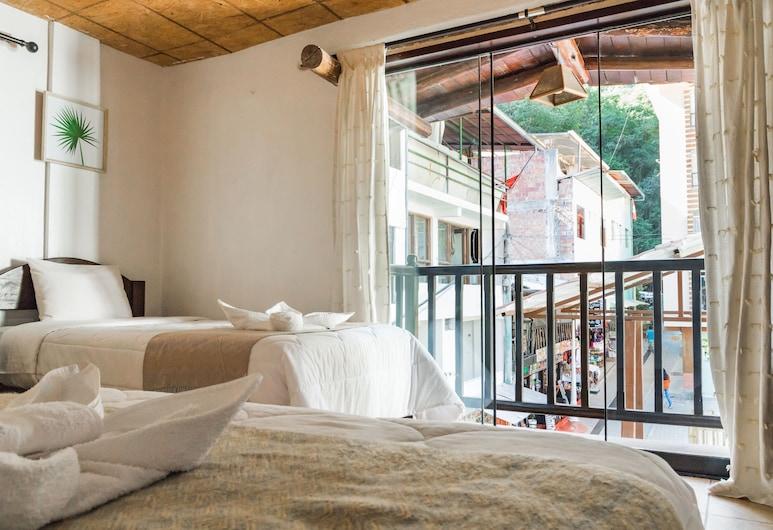 Luna Muna, Machu Picchu, Chambre Double, 2 lits une place, Vue depuis la chambre
