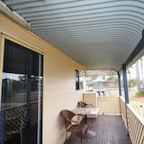 Domek wypoczynkowy, 2 sypialnie (Cabin 12) - Balkon