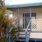 Domek wypoczynkowy, 2 sypialnie (Cabin 10) - Balkon
