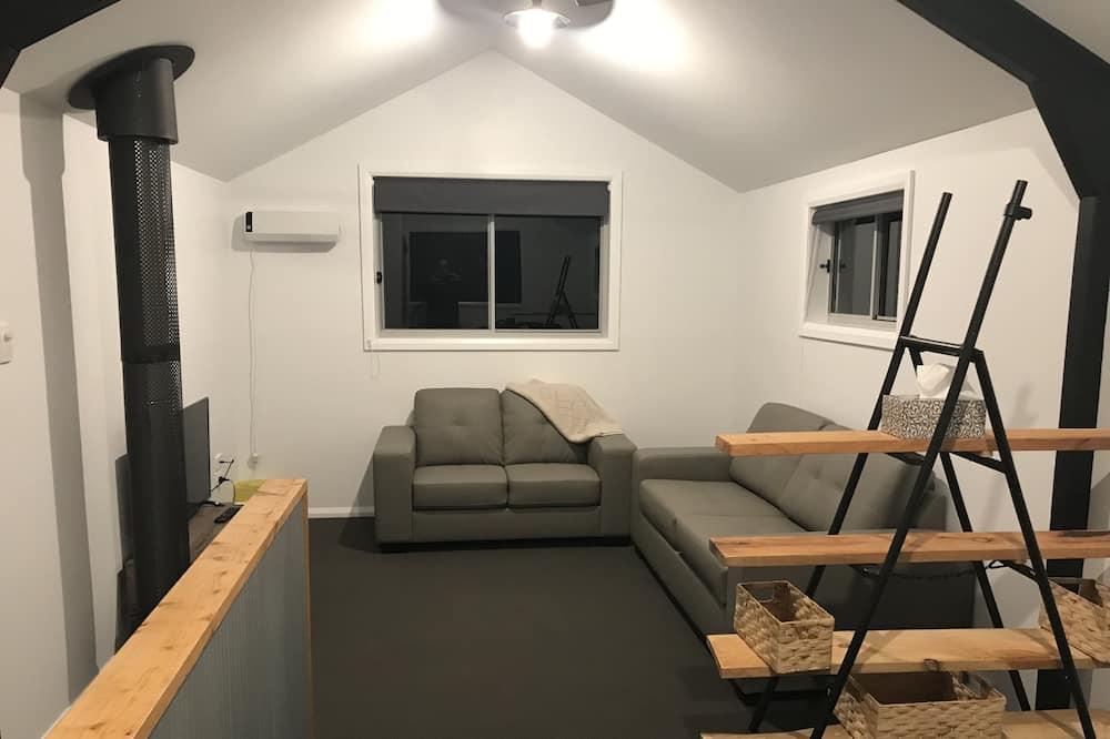 Comfort cottage, 3 slaapkamers, uitzicht op bergen, Uitzicht op gebergte - Woonruimte