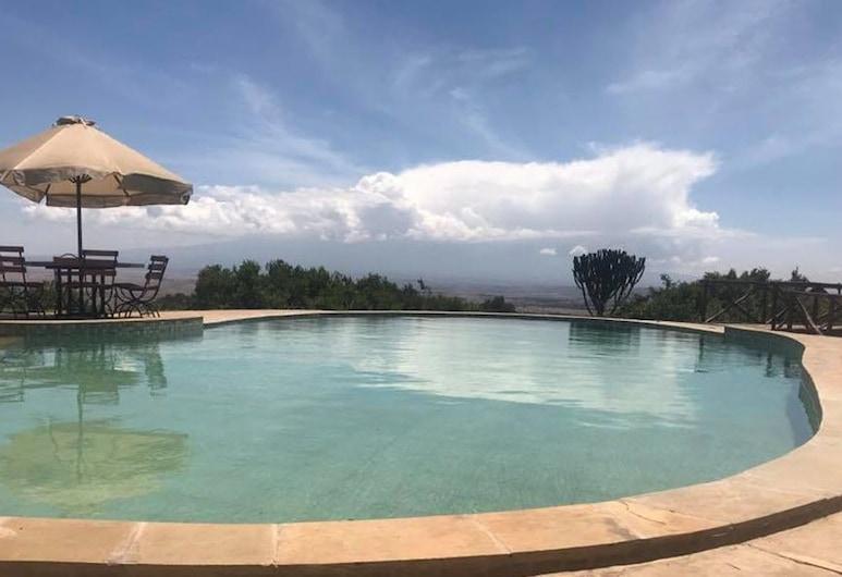 Rhino Watch safari Lodge, Nyahururu, Svømmebasseng