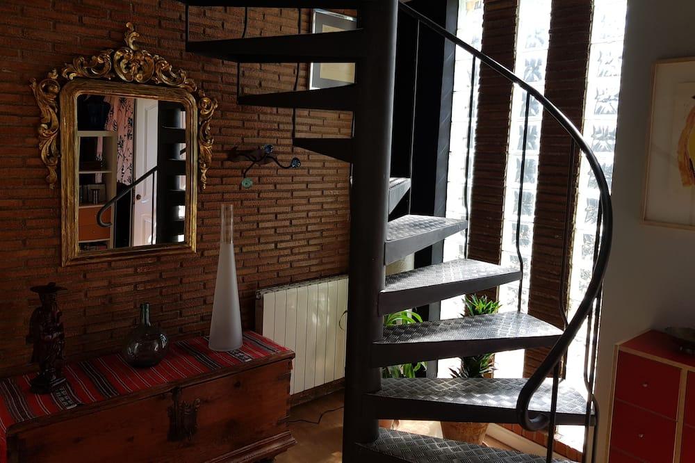 Dúplex, 3 habitaciones, vista a la montaña - Sala de estar