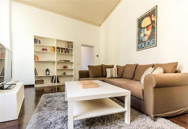 Fancy Apartment - Lovely Rome, Rom, Apartment, 1 Schlafzimmer, Wohnbereich
