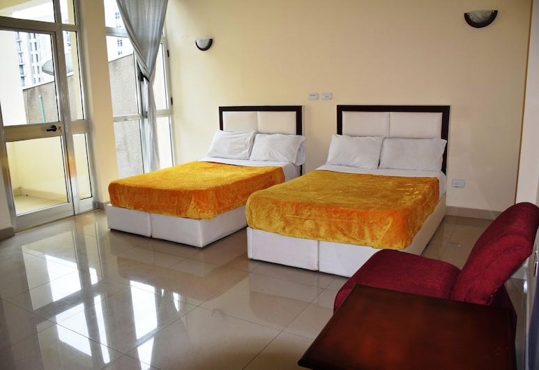Olympia Guest House, Addis Ababa, Comfort Single Room, City View, Bilik Tamu