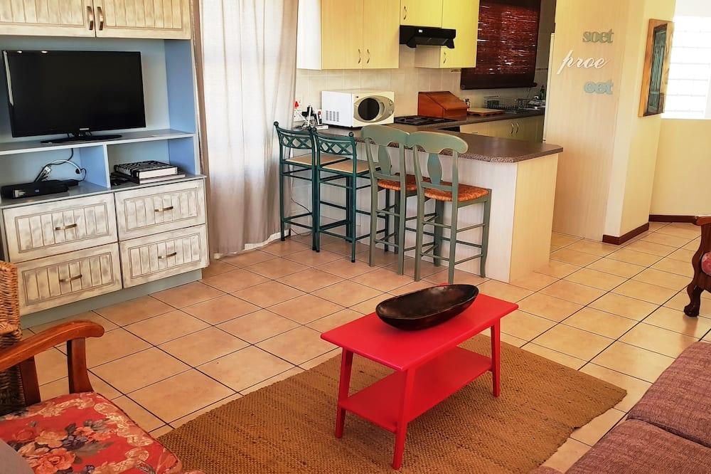 شقة عائلية - غرفتا نوم - لغير المدخنين - منطقة المعيشة