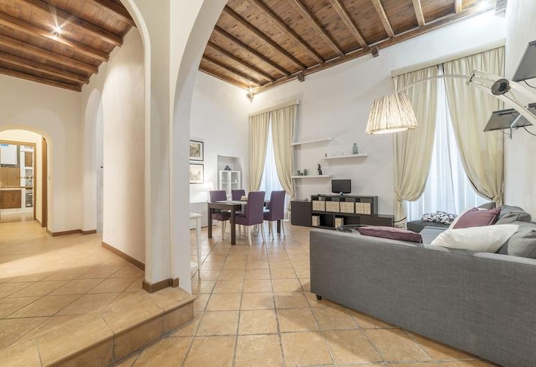 潘泰翁魅力公寓酒店, 羅馬, 公寓, 1 間臥室, 客廳