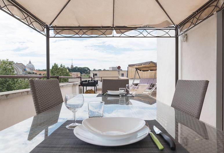 梵蒂岡博物館舒適公寓酒店, 羅馬, 室外用餐