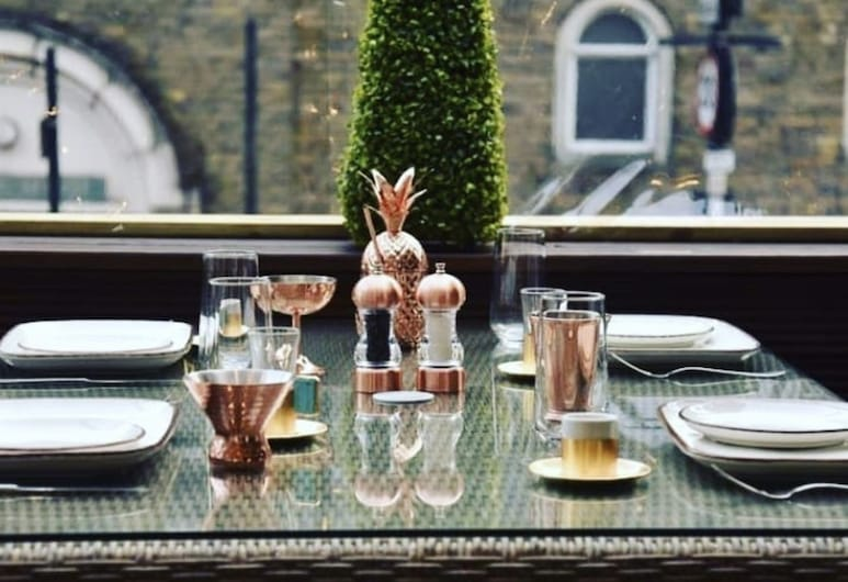 Tourian Lounge Hotel, Londres, Terrasse/Patio