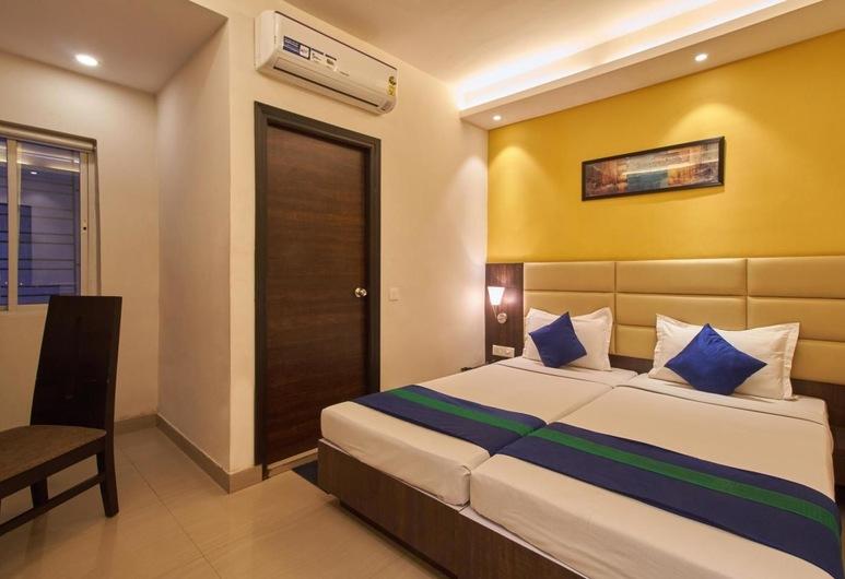Hotel Crest Inn, Kalkutta, Deluxe-Zimmer, Zimmer