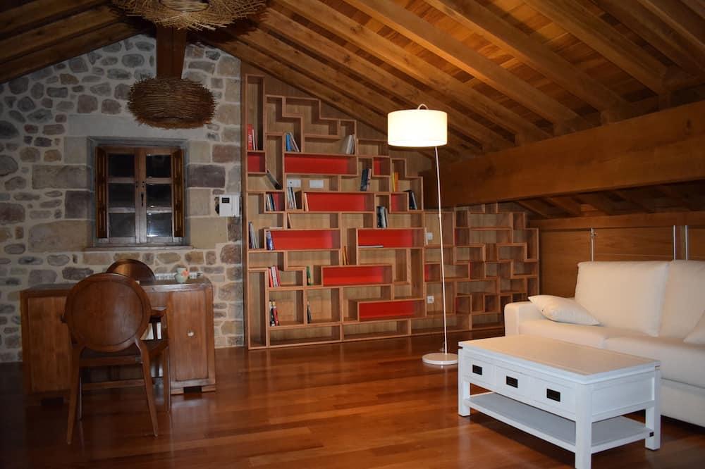 豪華獨棟房屋, 4 間臥室, 露台 - 客廳